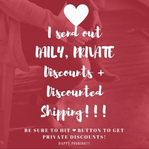 Other - DAILY, PRIVATE DISCOUNTS WITH DISCOUNTED SHIPPING